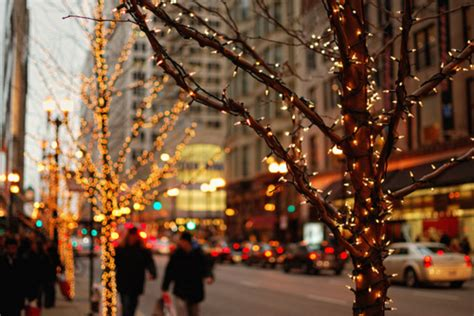 beautiful christmas city lights image 415137 on