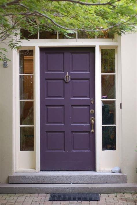 eggplant front door eggplant purple door beautiful doors