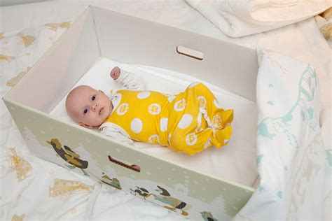 Box Baby Does Why Do Babies Sleep In Cardboard Boxes Goodnet