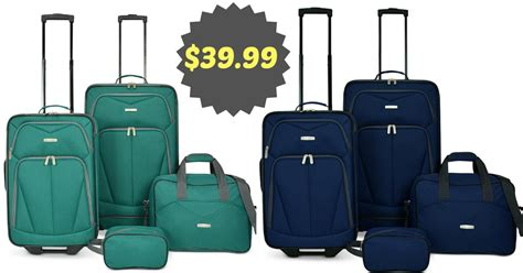 shipping luggage can be cheaper than checking the new cheap 4 piece luggage sets mc luggage