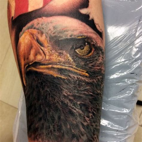 90 Bald Eagle Tattoo Designs For Men Ideas That Soar High Bald Eagle Tattoos For