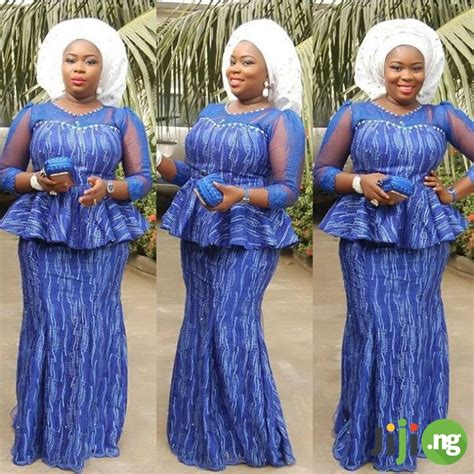 skirt and blouse style with cord lace 10 best plus size aso ebi styles 2018 jiji ng blog