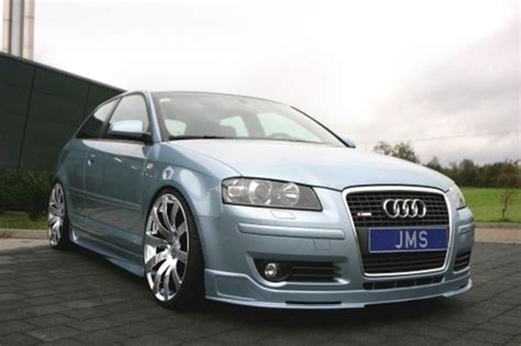 Audi A3 Tuning Teile by Frontlippe Racelook Exclusive Line Audi A3 8p S3 Jms