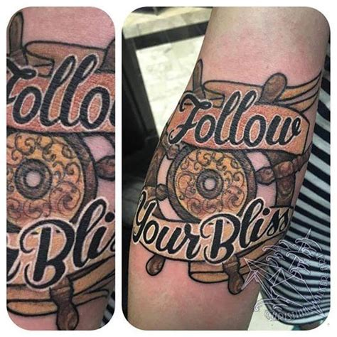 follow your bliss tattoo follow your bliss by walker tattoonow