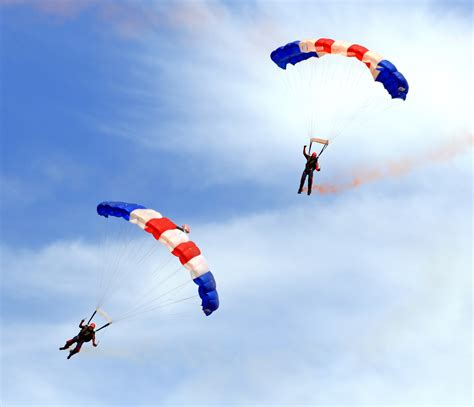 parachute dive p is for building a team of parachute packers the