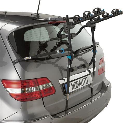 porta biciclette per auto porta bici posteriore norauto norbike per 3 bici norauto it