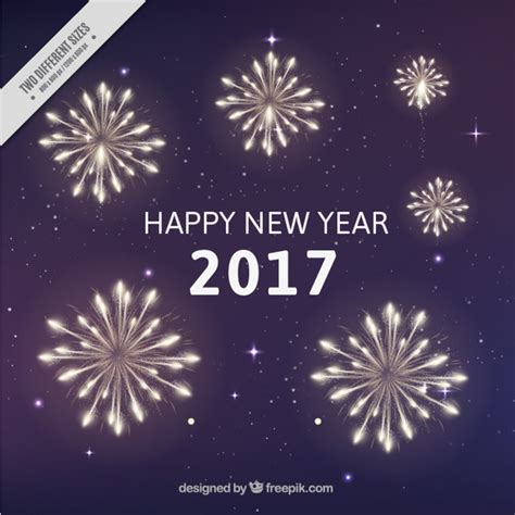 new years colors new year fireworks background in piurple color vector
