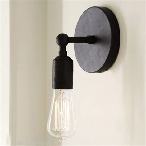 Edison Bulb Wall Sconce Vintage Brief Retro Style Wall Light Sconce Edison Bulb L 220v Alex Nld