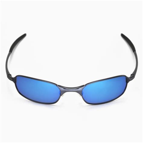 Oklay X Square Silver Blue oakley ti square wire lenses www panaust au