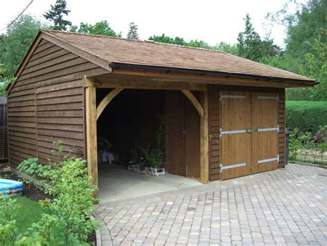 carport holz 4x4 superb wooden garages 2 wooden car garage