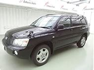 toyota kluger second used toyota kluger from japan