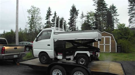 mitsubishi mini truck lifted check it out suzuki 4x4 japanese mini truck with scissor