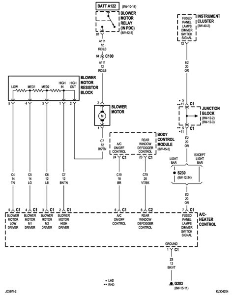2003 jeep liberty wiring diagram 2003 jeep liberty motor stops blower motor it only goes