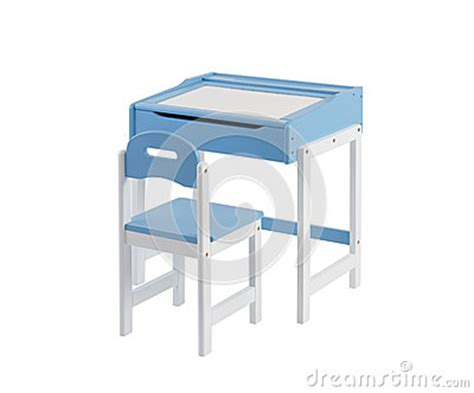 Student Desk With Whiteboard Top And Chair Stock Image White Board Desk