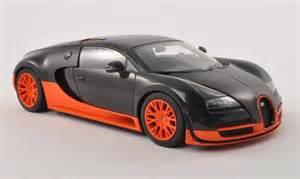 Orange Bugatti Veyron Bugatti Veyron 16 4 Sport Black Orange 2010 Autoart