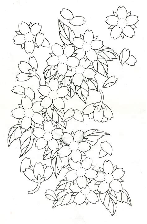 cherry blossom tattoo designs cherry blossoms disigin