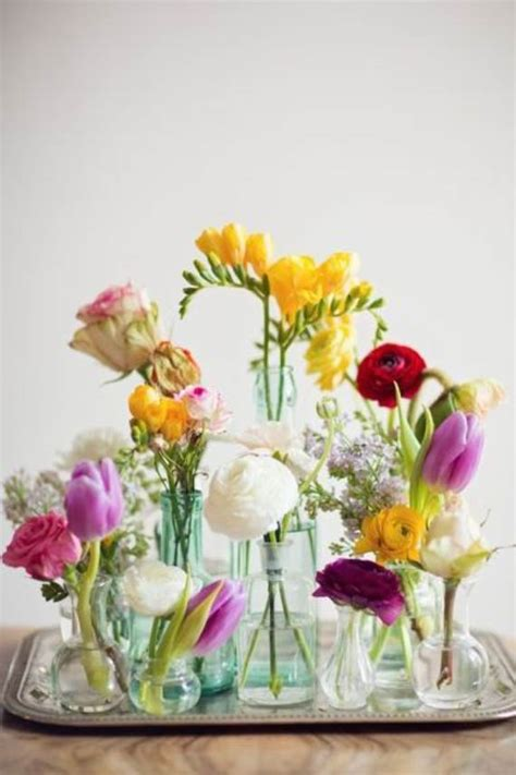 Spring Flower Arrangement Ideas | 40 spring flower arrangements table centerpieces and