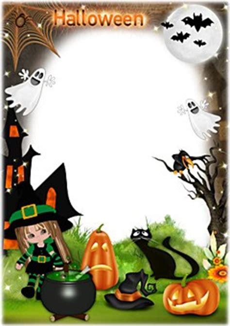 imagenes de halloween dibujos marcos de halloween loonapix marcos para fotos online