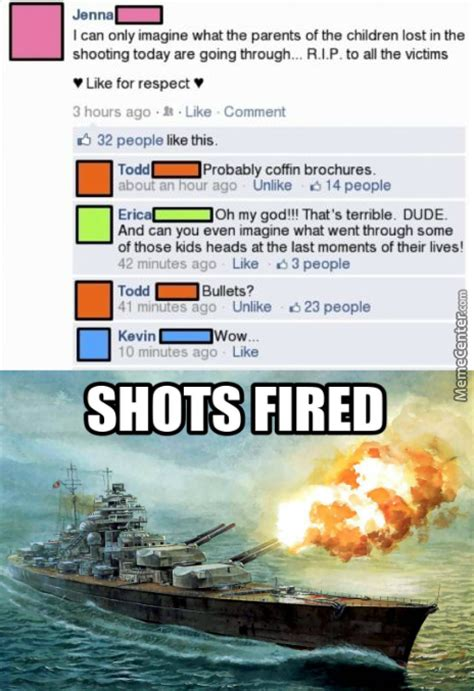 Shots Fired Meme - quot shots fired quot if you get what i mean by victroll