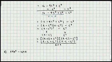 los 10 casos de factorizacion matematicas youtube ejercicio factorizacion quinto caso mi profesor de matematicas video 021 youtube