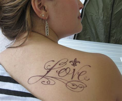 girls tattoo design shoulder design for ideas pictures