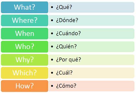 preguntas en ingles mas usadas palabras interrogativas con how en ingles wroc awski