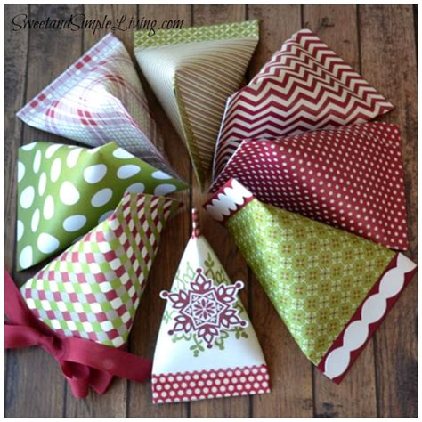 Scrapbook Paper Crafts - paper craft ideas sour containers