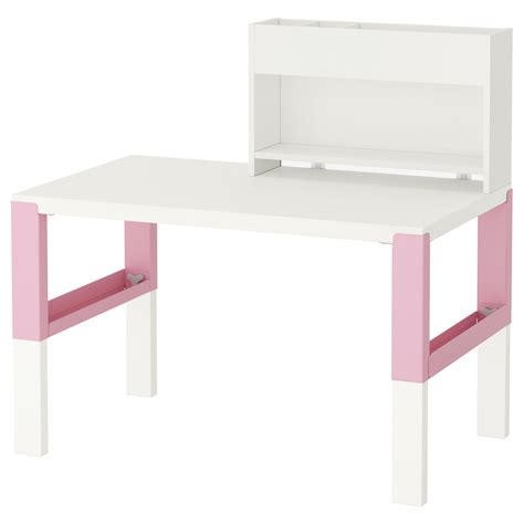 ikea pink desk chair p 197 hl desk with add on unit white pink 96x58 cm ikea