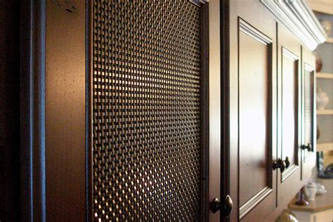 wire mesh grille inserts for cabinets wire mesh inserts for kitchen cabinets kitchen cabinets