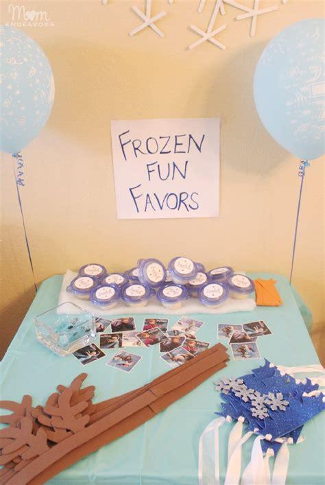 Frozen Giveaways - disney frozen birthday party