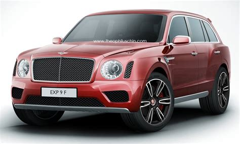 bentley suv 2016 2016 bentley suv rendered autoevolution