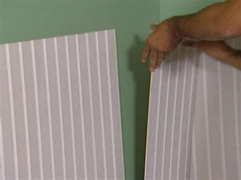 Lowes Beadboard Wainscoting by How To Install Beadboard Wainscoting How Tos Diy