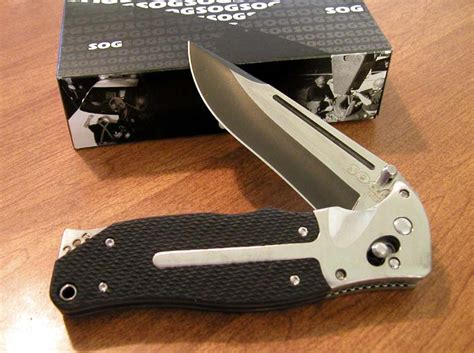 sog fatcat knife sog folding knives