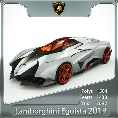 How Fast Is The Lamborghini Egoista 3d Lamborghini Egoista Model