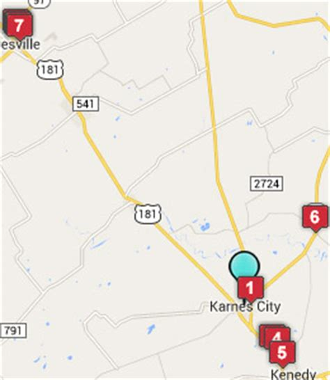 karnes city texas map karnes city texas hotels motels see all discounts