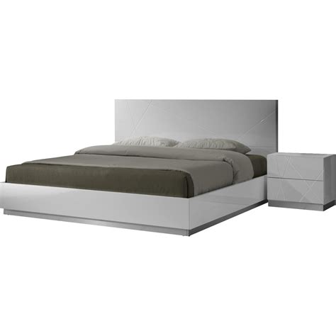 j m furniture naples 3 piece platform bedroom set in white j m furniture naples platform bed reviews wayfair