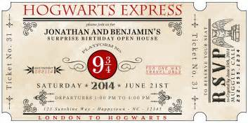 a well feathered nest harry potter the invitations