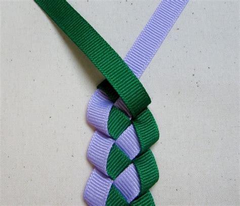 hawaiian ribbon lei   braid  necklace decorating knotting macrame  weaving