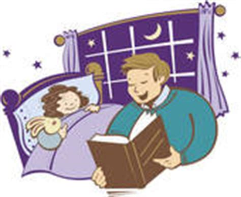 One In Ten Goes Without A Bedtime Story by Bedtime Story Clipart