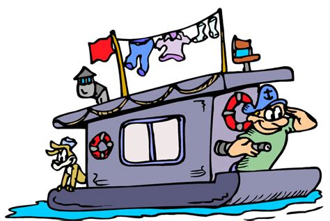 cartoon images of houseboat houseboat images clip art 15