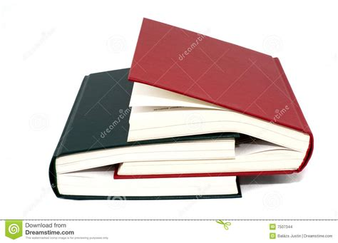 two a novel books two books stock images image 7507344