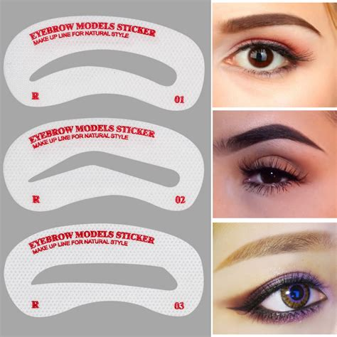 eye brow templates buy wholesale eyebrow stencil kit from china