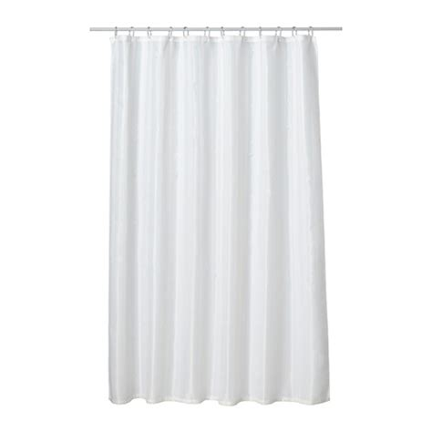 Ikea White Curtains Saltgrund Shower Curtain White 180x180 Cm Ikea