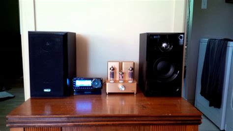 appj pa0901a with kef c1 speakers and starmate 7