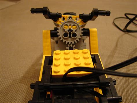studded chopper bike lego technic mindstorms model
