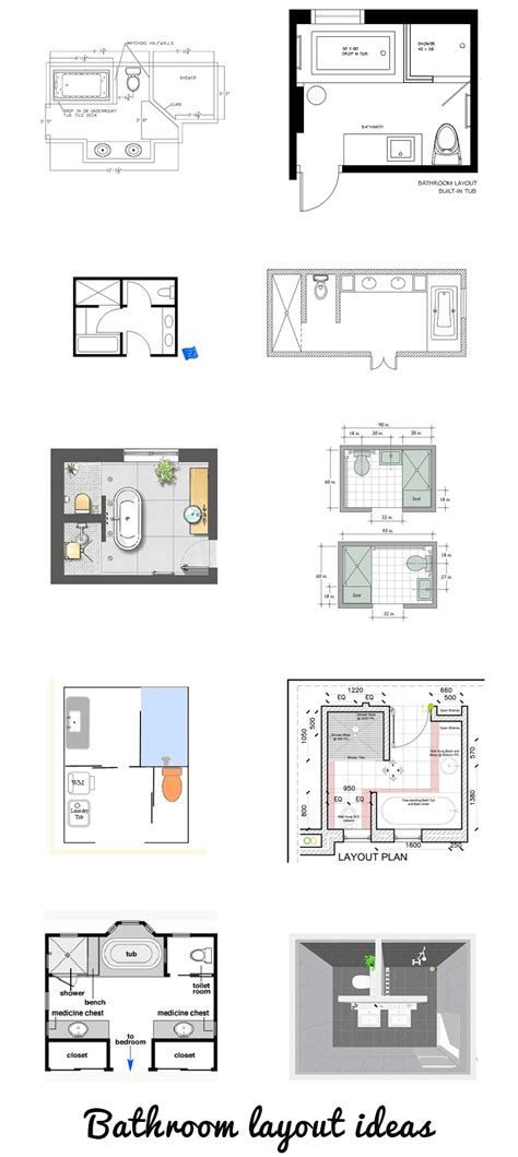 Bathroom Design Layout Ideas by Looking For A Bathroom Layout