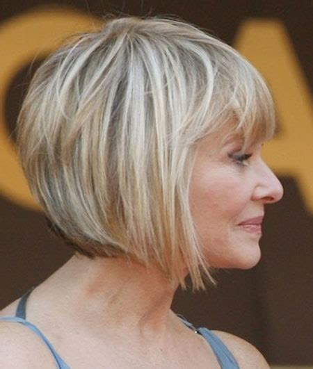 anngled bangs for bob stles fir mature women 35 short hair for older women short hairstyles 2017