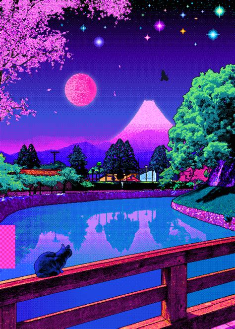 video garden aesthetic vaporwave art art aesthetic art