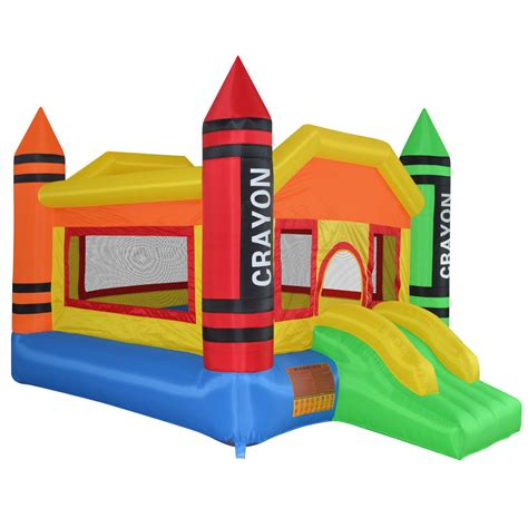 inflatable house mini crayon bounce house inflatable jump castle