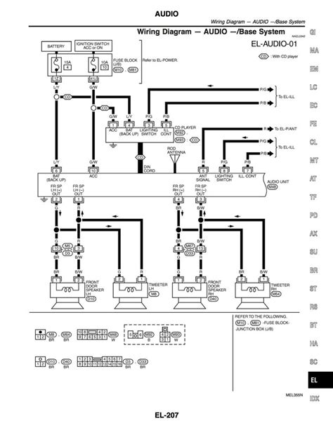 do you wiring diagram for a bose system imageresizertool 2004 pathfinder se non bose stereo issues 96 2004 r50 pathfinders npora forums